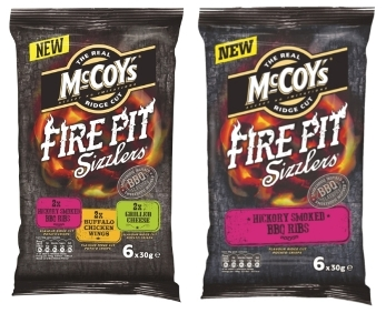 Summer Snacking with McCoy's Fire Pit Sizzlers