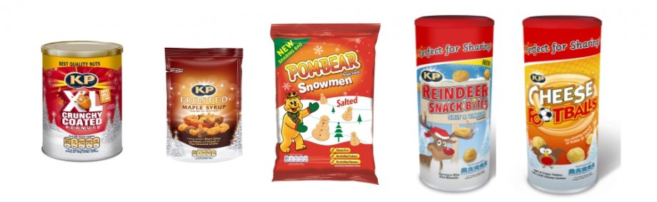 All-star Christmas line-up from KP Snacks
