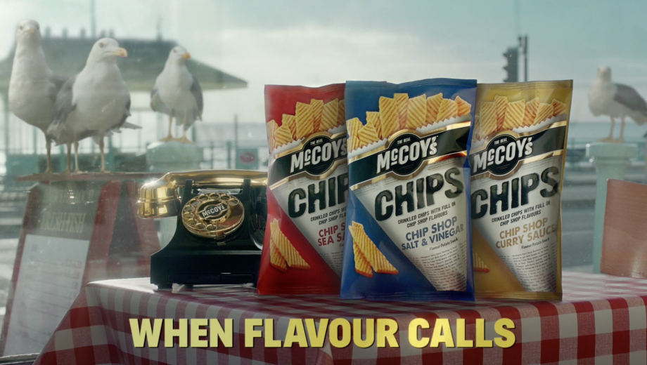 McCoy's Chips return to TV