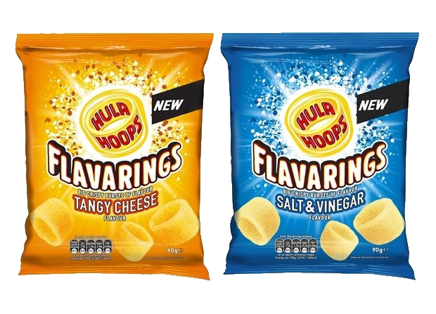 Flavarings joins the iconic KP Hula Hoops brand