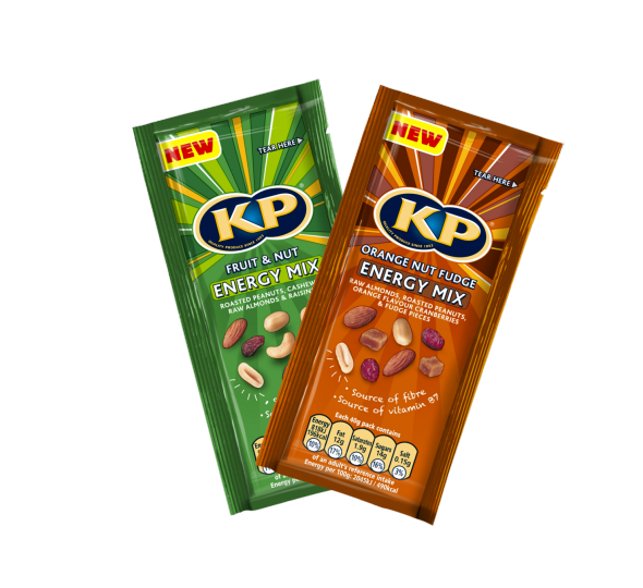 KP Nuts launches new sweet chilli cashews and new sharing size nut mixes