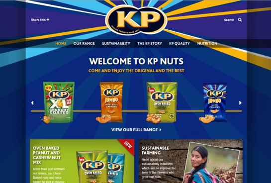 New McCoy's and KP Nuts websites