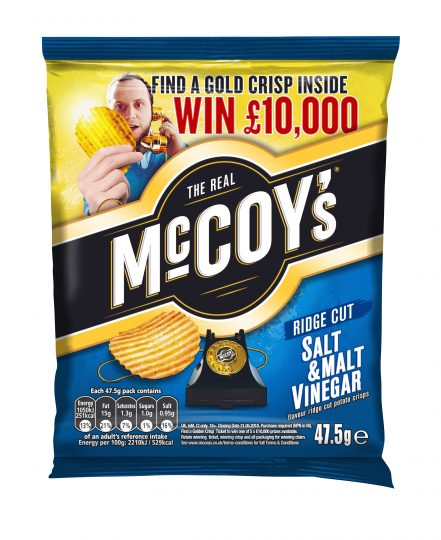 'Win Gold' with McCoy's to win £10,000