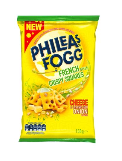 Phileas Fogg launches new French-style Crispy Squares