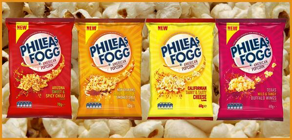 Introducing our BRAND NEW Phileas Fogg Popcorn flavours!