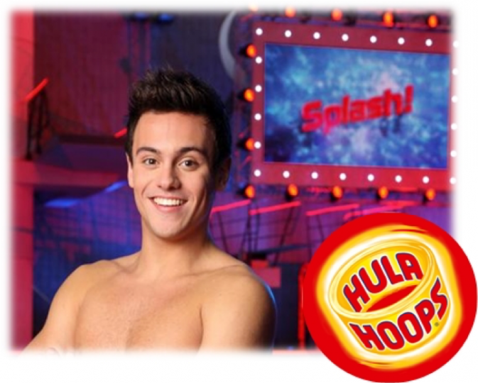 Hula Hoops back on TV as sponsor of ITV's 'Splash!'