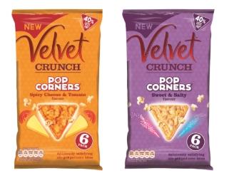 New – Velvet Crunch Popcorners!