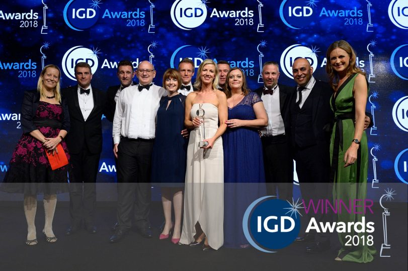 Proud winner of IGD Business Transformation Award