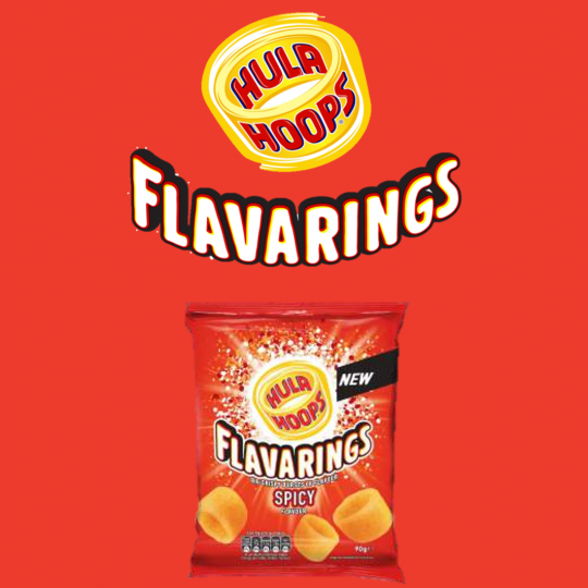 BIGGER, BOLDER AND MORE IRRESISTIBLE:  KP SNACKS DOUBLES INVESTMENT IN HULA HOOPS FLAVARINGS