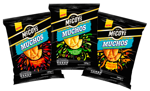 KP SNACKS LAUNCHES SOCIAL MEDIA CAMPAIGN FOR MCCOY'S MUCHOS