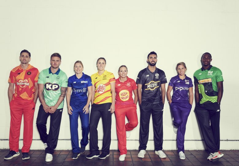 KP BRANDS UNVEILED AS ENGLAND CRICKET'S STARS ALIGN FOR THE HUNDRED