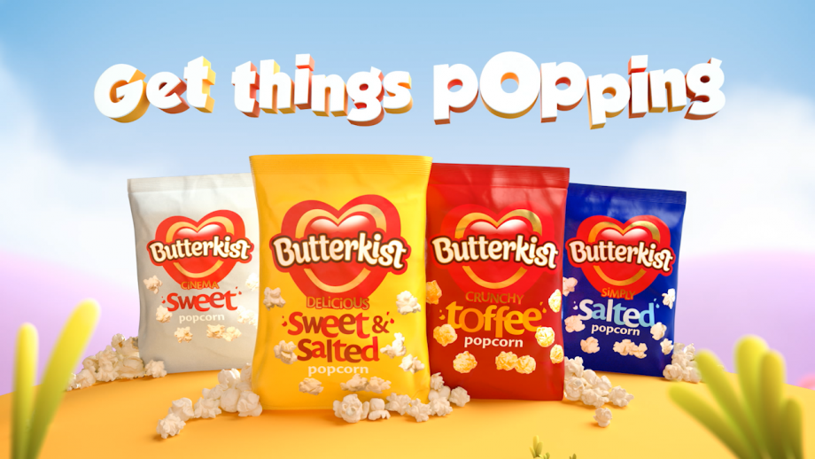 KP Snacks brings the fun back into popcorn with £2m investment in Butterkist