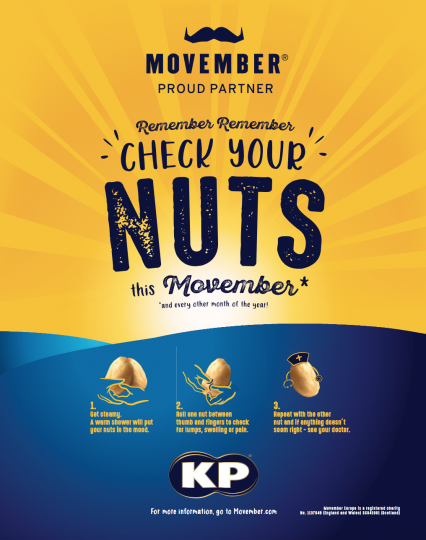 KP SNACKS GOES NUTS IN SUPPORT OF MOVEMBER