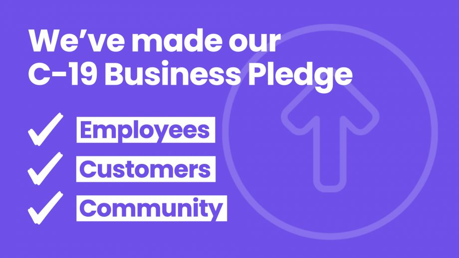 We've signed up to the C-19 Business Pledge
