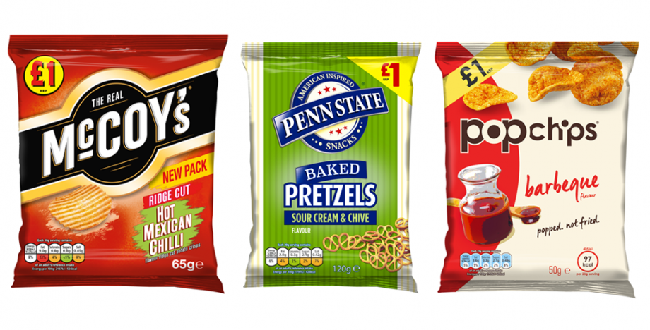KP SNACKS DRIVES IMPULSE PURCHASES WITH THREE NEW PRICE-MARKED PACKS