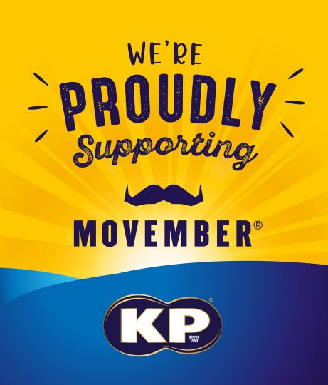 KP SNACKS GOES NUTS IN SUPPORT OF MOVEMBER FOR A SECOND YEAR