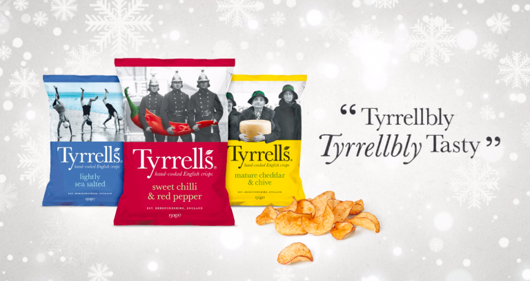 A 'TYRRELLBLY TYRRELLBLY TASTY' CHRISTMAS: TYRRELLS INVESTS £1.5M IN MULTIMEDIA CAMPAIGN