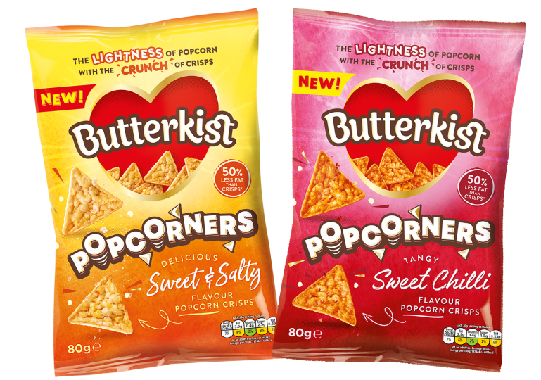 BUTTERKIST GETS THINGS POPPIN' WITH EXCITING NEW PRODUCT AND BRAND NEW LOOK