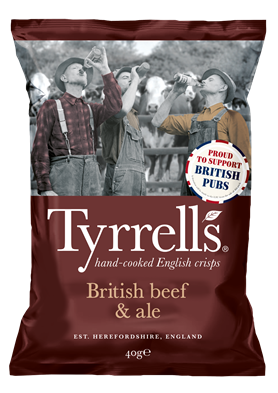 Exciting new flavour for Tyrrells crisps