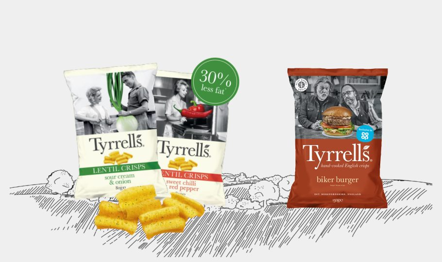 Exciting new snacks for summer from Tyrrells